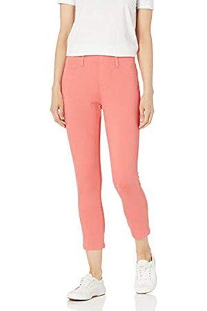 Amazon Pull-on Knit Capri Jegging Pants, Corallo Luminoso, Large Long