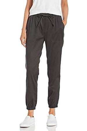 Daily Ritual Stretch Tencel Drawstring Jogger Pant Pants, Asphalt, US M