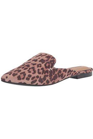 Amazon Pointy Toe Mule with Mini Heel, Leopardati, EU 36-37