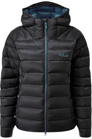 Rab Electron Pro - giacca piumino con cappuccio - donna. Taglia 12