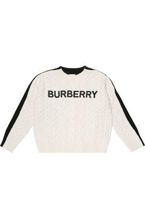Burberry Pullover a trecce in misto lana