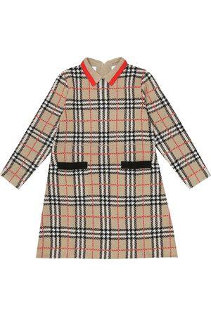 Burberry Abito a quadri in lana merino