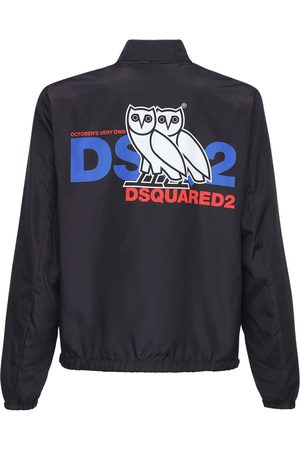 "Dsquared2 Giacca ""ovo Capsule"" In Techno Con Logo"