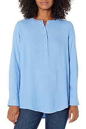 Amazon Camicetta in Tessuto a Maniche Lunghe. Dress-Shirts, Francese, US M