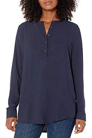 Amazon Camicetta in Tessuto a Maniche Lunghe. Dress-Shirts, Dainty, US XXL