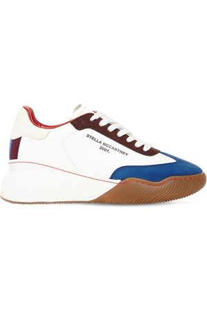 "Stella McCartney Sneakers ""loop Sporty"" In Ecopelle 30mm"