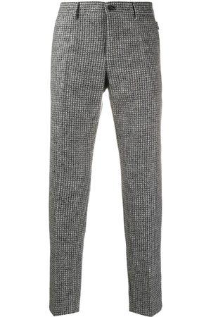 Dolce & Gabbana Uomo Eleganti - Pantaloni sartoriali a quadri