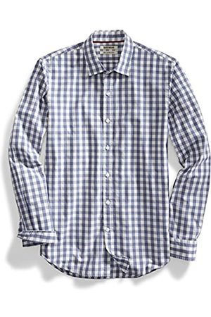 Goodthreads Slim-Fit Long-Sleeve Large-Scale Gingham Shirt Camicia,
