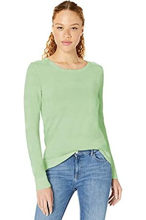 Amazon Lightweight Crewneck Sweater Pullover-Sweaters, Menta Brillante, US M