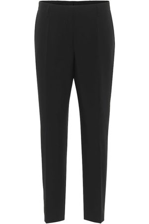 DRIES VAN NOTEN Pantaloni slim in lana