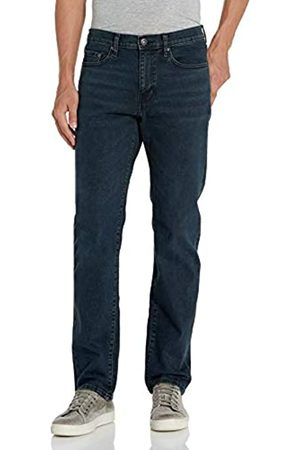 Goodthreads Comfort Stretch Straight-Fit Jean Jeans, Blue Black Vintage, 29W x 28L