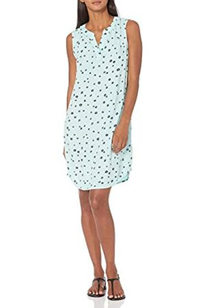 Amazon Vestito Senza Maniche. Dresses, Aqua Poppy, US XXL