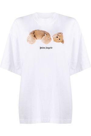 Palm Angels Donna T-shirt - T-shirt Bear Over