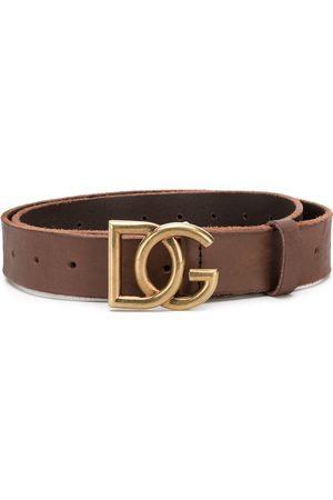 Dolce & Gabbana DG buckle leather belt - Color