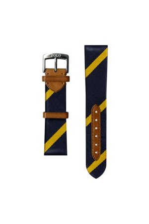 Polo Ralph Lauren Uomo Orologi - Cinturino da orologio seta a righe