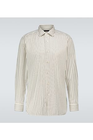 THE GIGI Camicia a righe in misto cotone