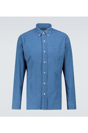 Tom Ford Camicia in velluto a coste