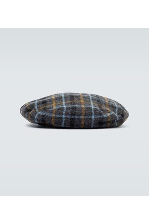 UNDERCOVER Basco a quadri in lana