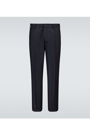 THE GIGI Pantaloni gessati in misto lana