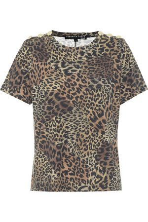 VERONICA BEARD T-shirt Carla a stampa in cotone