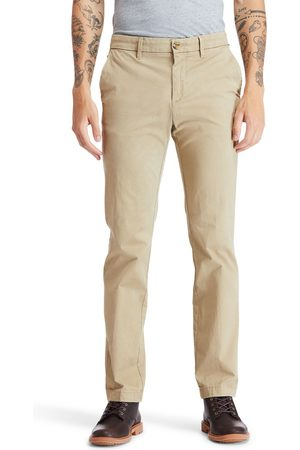 Timberland Uomo Chinos - Pantaloni Chino Da Uomo In Twill Squam Lake In Khaki Khaki