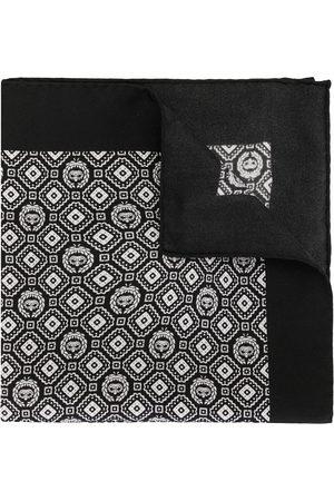 Dolce & Gabbana Fazzoletto da taschino con stampa geometrica