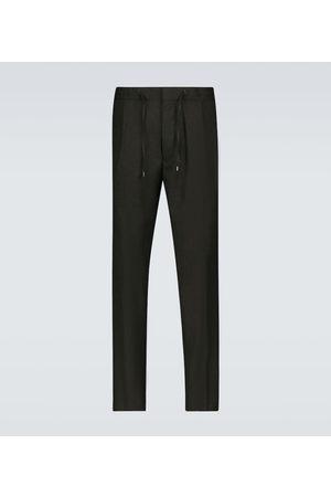 LARDINI Pantaloni in lana