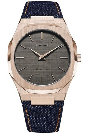 D1 MILANO Orologio Western Denim Ultra Thin 40mm - Di colore