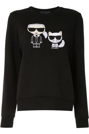 Karl Lagerfeld Donna Felpe - Felpa Ikonik Karl&Choupette