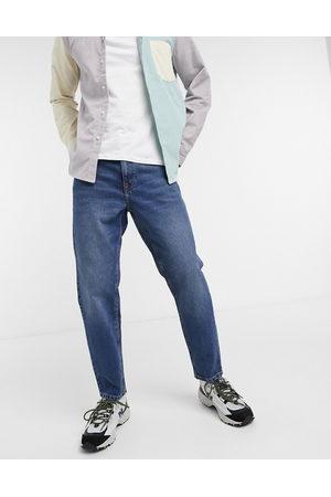 ASOS Jeans classici rigidi scuro slavato vintage
