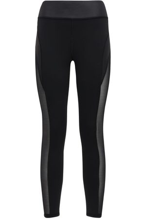 "MICHI Leggings ""raven"" Con Inserti In Mesh"