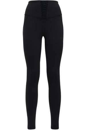 MICHI Leggings Con Inserti In Pizzo