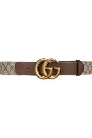 Gucci Cintura motivo GG con fibbia Doppia G