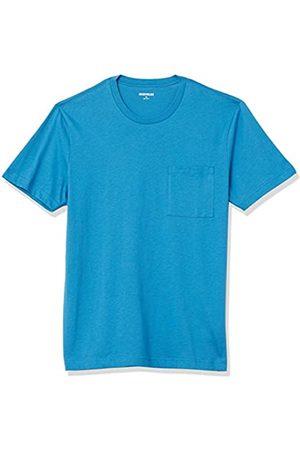 Goodthreads The Perfect Crewneck Maglietta Manica Corta Cotone Fashion-t-Shirts, Scarpette a Strappo Voltaic 3 Velcro Fade-Bambini, US M