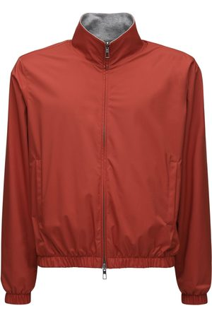 Loro Piana Bomber Reversibile In Cashmere Windmate E Zip