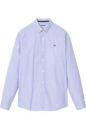 Napapijri Girb Stripe - camicia a maniche lunghe - uomo. Taglia L