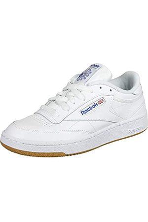 Reebok Club C 85, Sneaker Uomo, Bianco , 42.5 EU