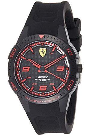 Scuderia Ferrari Orologio Analogico Quarzo Uomo con Cinturino in Silicone 0840032