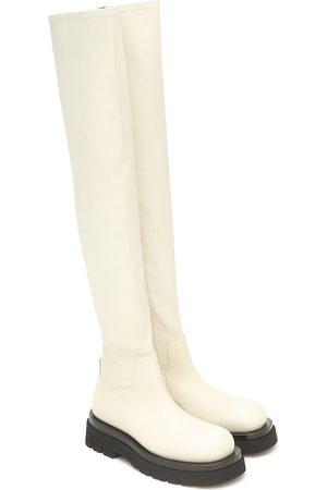 Bottega Veneta Stivali cuissardes BV Lug in pelle