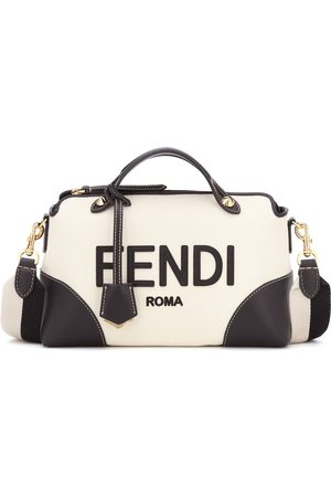 Fendi Bauletto By The Way in canvas e pelle