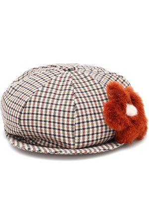 Il gufo Cappello a quadretti