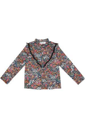 BONPOINT Camicia Pamela a stampa in cotone