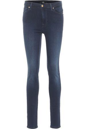 7 for all Mankind Jeans skinny a vita alta