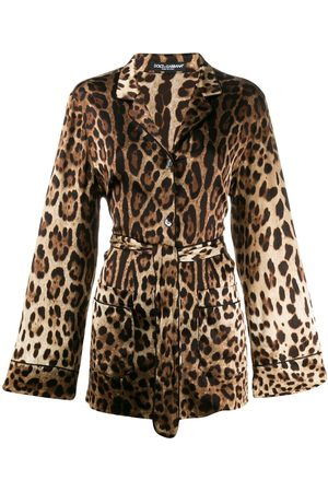 Dolce & Gabbana Camicia leopardata