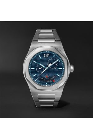 Girard Perregaux Laureato Perpetual Calendar 42mm Automatic Stainless Steel Watch, Ref. No. 81035-11-431-11A