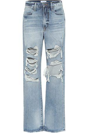 Frame Donna Boyfriend jeans - Jeans boyfriend Hollywood a vita alta