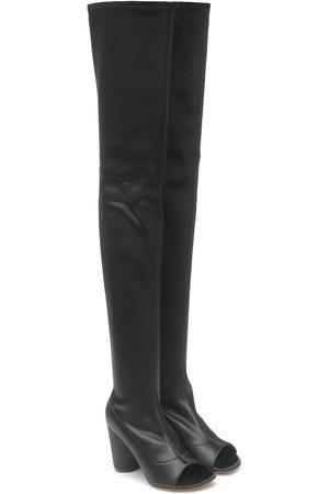 Vetements Donna Sopra il ginocchio - Stivali cuissardes con cut-out