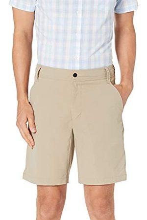 """Amazon Slim-Fit Hybrid Tech 9"""" Short Athletic-Shorts, Khaki Chiaro, 36"""