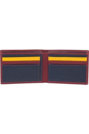 Dudu Uomo Portafogli e portamonete - Colorful - Caprera - Burgundy