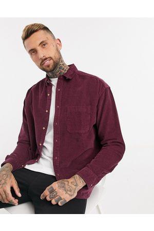 ASOS Uomo Camicie - Camicia a coste oversize stile anni '90